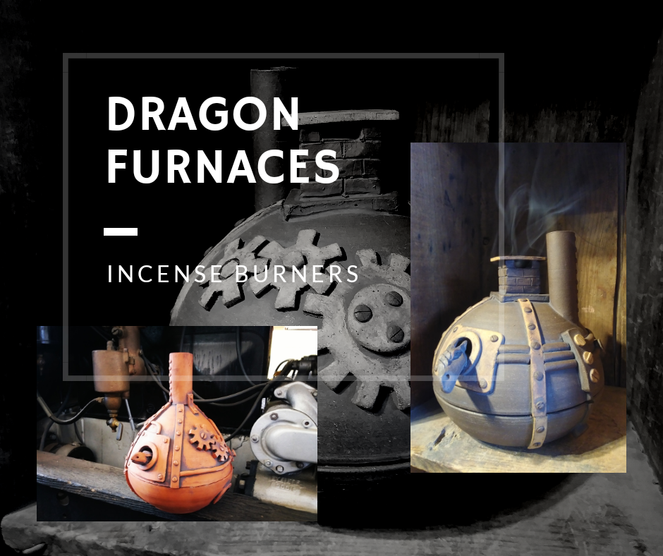 Dragon Furnace Incense Burners